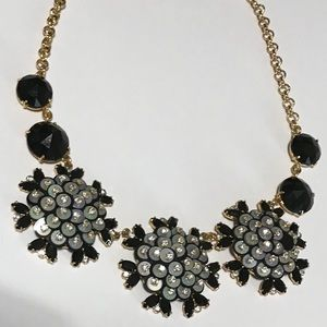 Kate Spade Floral Crystal Necklace- ChicEwe